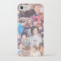 larry stylinson iPhone & iPod Cases featuring Harry and Louis - Larry Stylinson by Troy Abed