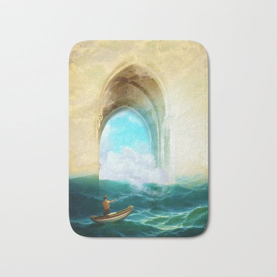 The Veil of Mists Bath Mat