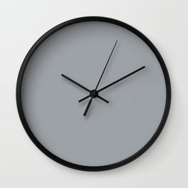 Decor - Signature Grey Wall Clock
