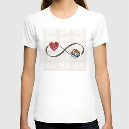 Infinity Love Knot - Always And Forever - Sharon Cummings T-shirt