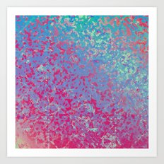 Colorful Corroded Background G284 Art Print