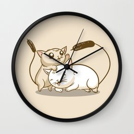 CatTails! Wall Clock