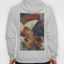 Otto Freundlich Composition, 1930 Colorful Geometric Painting Hoody