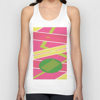back to the future Tank Tops featuring Back 2 The Future by TheArtGoon