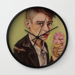 Ice Cream Boy Wall Clock