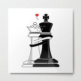Chess love #4 Metal Print