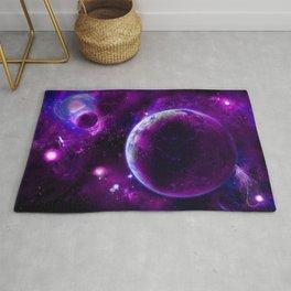 Purple Space Fantasy Rug