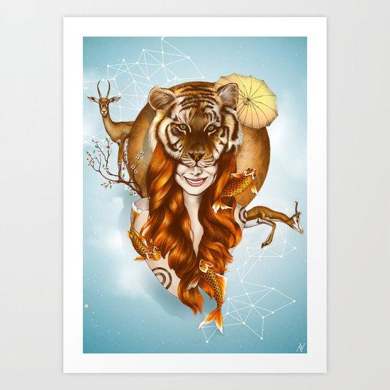 Tigress Art Print