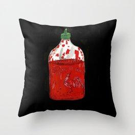 Hot Sauce Throw Pillow