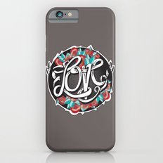 Love -Ribbon-Word iPhone 6s Slim Case