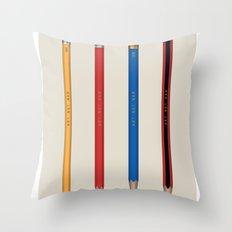 Art not War - Pencils Throw Pillow