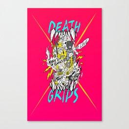 death grips acid tribute Canvas Print