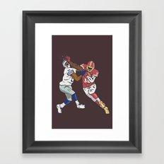 RG3 Framed Art Print