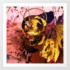 Wine glass Art Print
