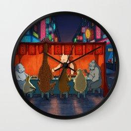 Street Food Wall Clock