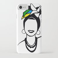 brasil iPhone & iPod Cases featuring Brasil by andiroses