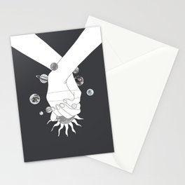 Everything Revolves Around Us II Stationery Cards