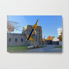 University of Toledo- Rocket Metal Print