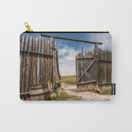 Historic Fort Bridger Gate - Wyoming Carry-All Pouch