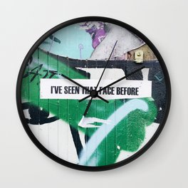BRICK LANE Wall Clock