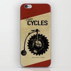 Vicious Cycles iPhone & iPod Skin