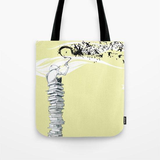 "Glue Network Print Series ""Education & Arts"" Tote Bag"