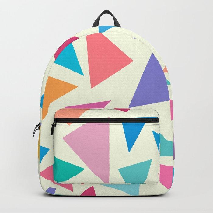 Colorful geometric pattern II Backpack