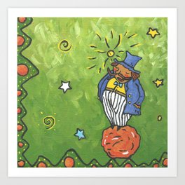 The Conceited Man From Little Prince Art Print