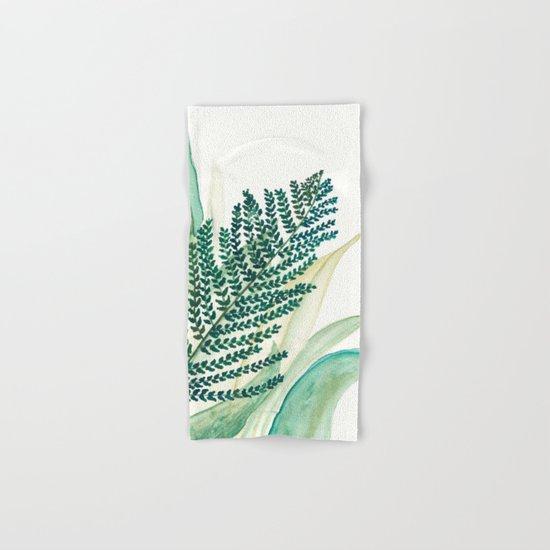 Botanical vibes 02 Hand & Bath Towel