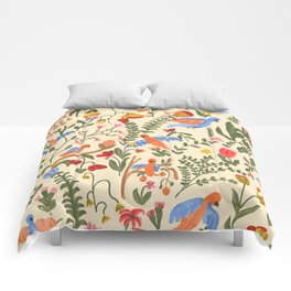 Tropical Garden Pattern Comforters