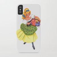 cinderella iPhone & iPod Cases featuring Cinderella by Celine Billy