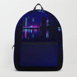 Cyberpunk Miami Backpack