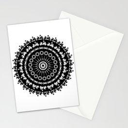 Motorcycle Mandala Stationery Cards