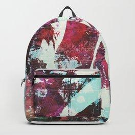 rose, digital graffiti Backpack