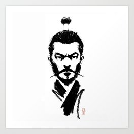 Mifune Art Print
