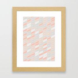 Pattern Rose 1 Framed Art Print