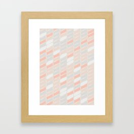 Pattern Rose 1 Framed Art Print