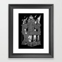 MMXII Framed Art Print
