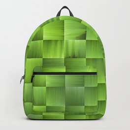 Weave in Green Backpack