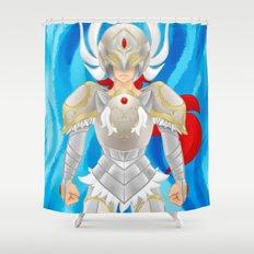 Leora of Valor Shower Curtain