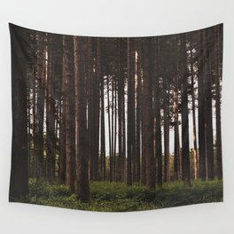 Moody Forest - Landscape and Nature Photography Wall Tapestry