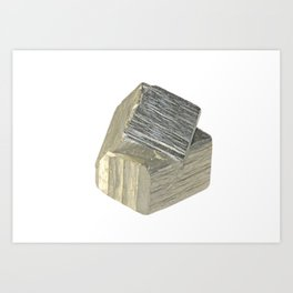 Pyrite piece Art Print