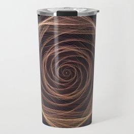 Geometric Rose Travel Mug