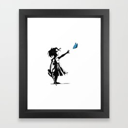 Little sister Framed Art Print