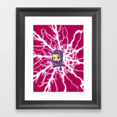 Chibi Psylocke Framed Art Print
