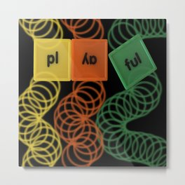 Playful Metal Print