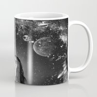 sci fi Mugs featuring Sci-Fi by Melissa Smith
