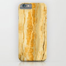 Gold Marble iPhone 6s Slim Case