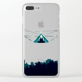 Wireless Camping Clear iPhone Case