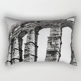 Roman Aqueduct of Segovia Rectangular Pillow